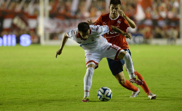 DYN801, BUENOS AIRES 08/03/2014, INDEPENDIENTE VS HURACAN.FOTO:DYN/RODOLFO PEZZONI.