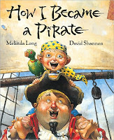 #PictureBookMonth Theme: Pirates :|: Read How I Became A Pirate by Melinda Long