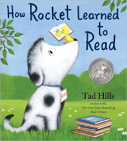 How Rocket Learned to Read #picturebookmonth #literacy #gtchat