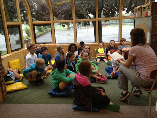 #Librarian convinces 3rd & 4th graders to give up recess to #read! #literacy #elemed #gtchat @jluss @mrs_hembree