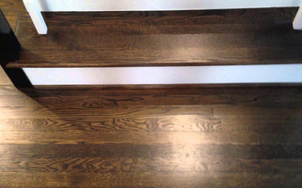Red Oak Stained Dark Walnut Patrick Daigle Hardwood Flooring