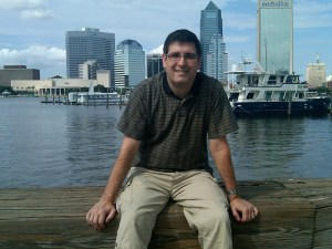 Patrick Taylor on the River Walk in Jacksonville, Florida