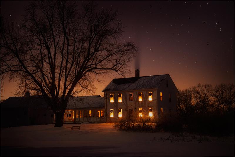Falling Stars Live Wallpaper Cold Winter Night Pelham Ma