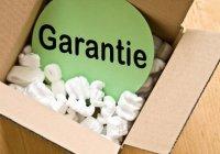 Versand mit Garantie