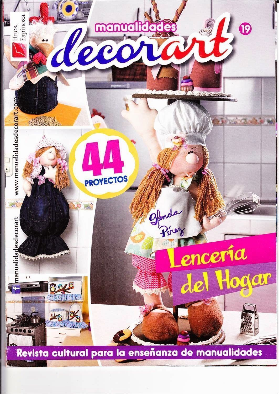 revista de mu ecas para decorar tu hogar diy patronesmil