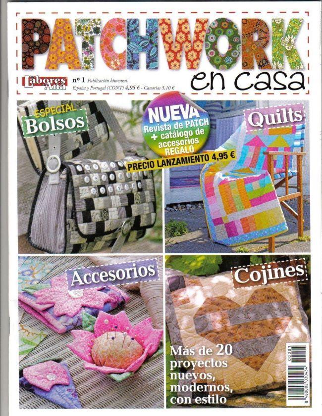 Patchwork en casa patronesmil - Casas de patchwork ...