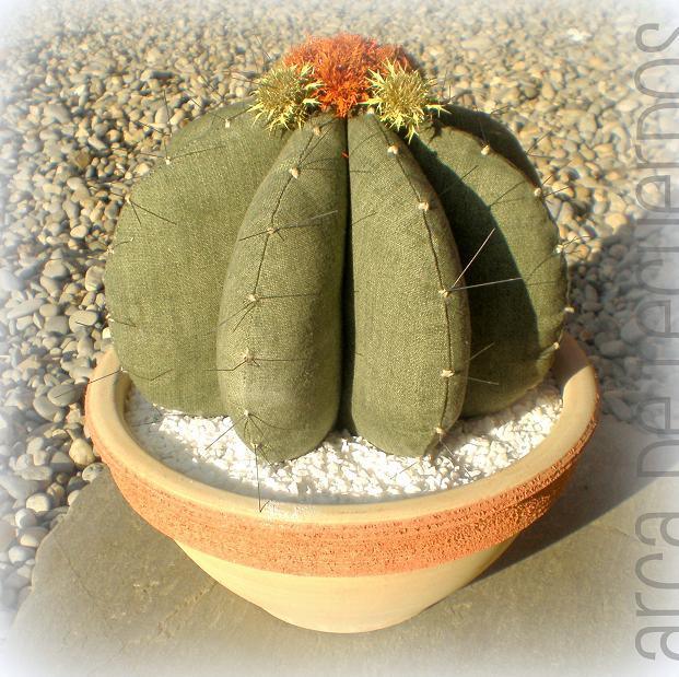 Cactus de tela patronesmil - Todo tipo de manualidades para hacer ...