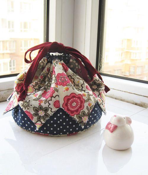 Patr n de bolso estilo japon s patronesmil - Hacer bolsos de tela paso a paso ...