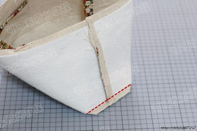 Como hacer una bolsa para la compra patronesmil - Como construir una pared ...