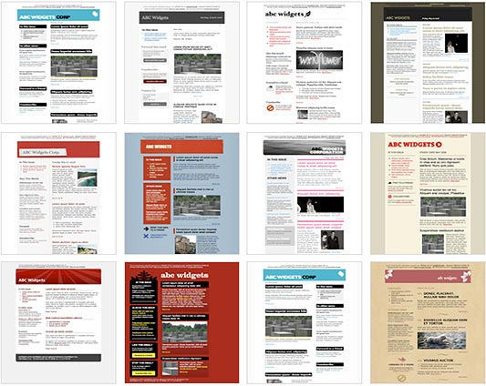 corporate newsletter free newsletter template responsive newsletter