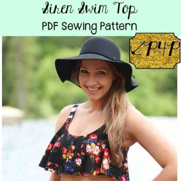 Pattern Review Patterns For Pirates Siren Swim Top