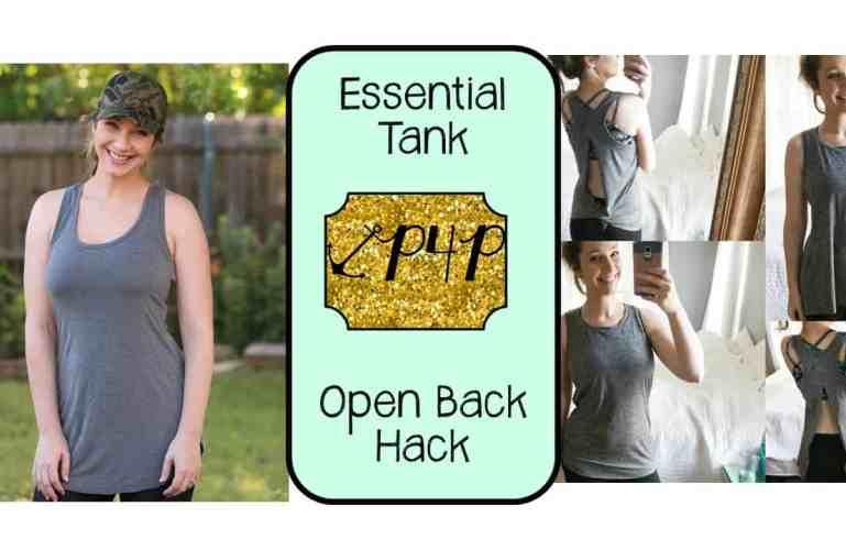 Essential Tank- Open Back Hack