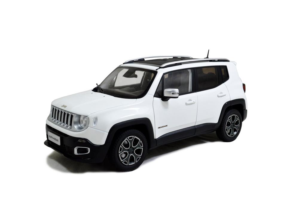 Jeep Renegade 2016 1/18 Scale Diecast Model Car - Paudi Model - car description