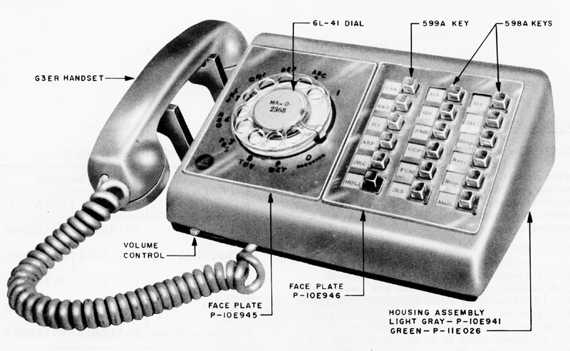 WE 500-series Telephone Types - plus 1500, 2500, 3500, Princess and
