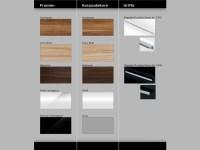 Design Badezimmermbel - Set mit Glaswaschtisch ...