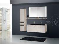Design Badezimmermbel - Set mit Midischrank und ...