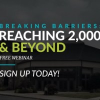 How to Break a (Big) Church Growth Barrier