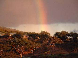 Wailea Lanai Rainbow