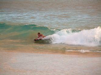 Big Beach Surfing