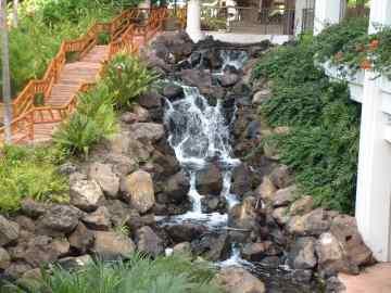 Wailea Waterfall