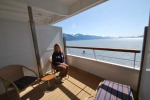 Cabin 230, Balcony