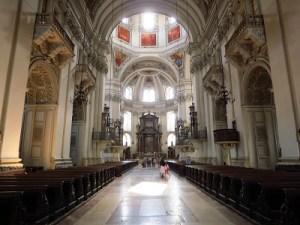 Inside Salzburg's Dom