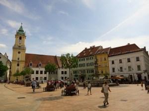 Main Square -- Bratislava