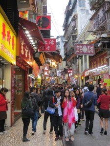 Shopping in Macau's Historic Center