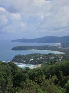 Western coastline of Phuket