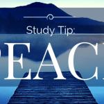 Study Tip: Peace