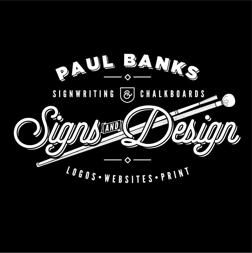 Paul Banks Signwriting and Design Logo