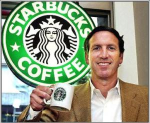 Photo of Howard Schultz - Starbucks CEO