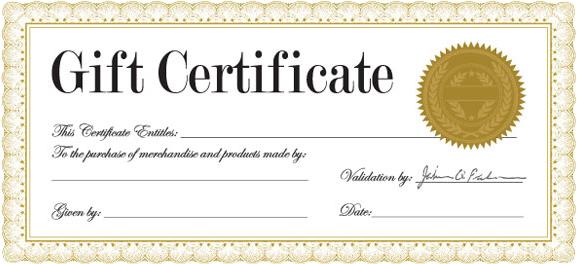 Gift Certificates - Paul Bond Fine Art