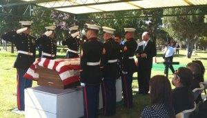Bob Lane's Funeral