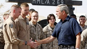 president-bush-troops