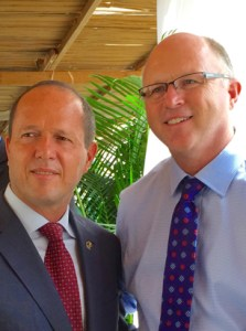 Thankful to meet Nir Barkot, Mayor of Jerusalem, and express our prayers and support for Israel