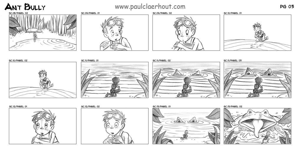 paulclaerhout - FILM STORYBOARDS