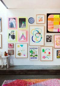 How to do a wall gallery with your children's' art! - Paul ...