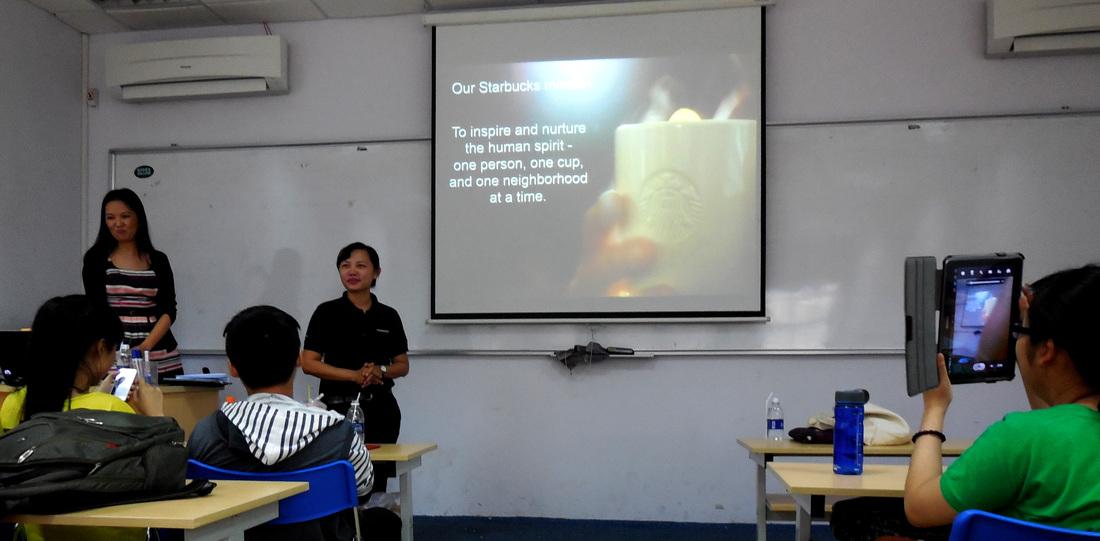 Starbucks Vietnam Visits Keuka College in Saigon - Active and - starbucks store manager