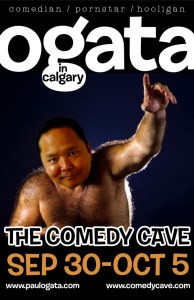 Paul Ogata in Calgary @ The Comedy Cave | Calgary | Alberta | Canada