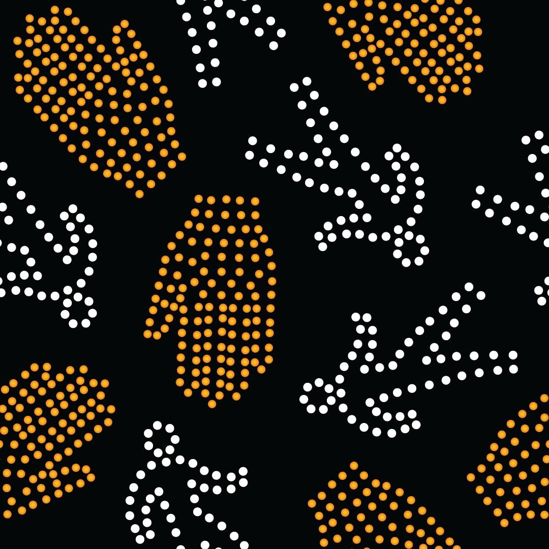 Paul S OConnor Vision Zero Textile Pattern Print Walk Sign