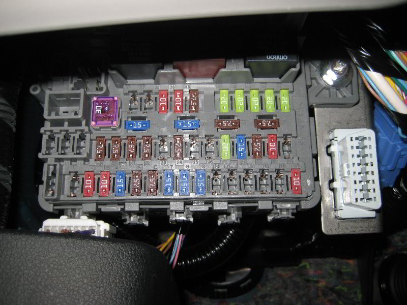 2012 civic interior fuse diagram