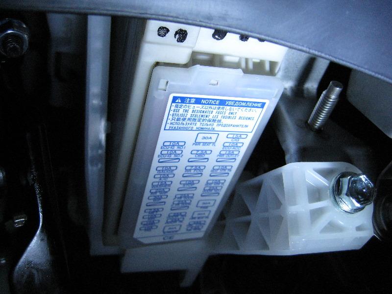 Fuse Box 2007 Toyota Prius Toyota prius fuse box cover get free