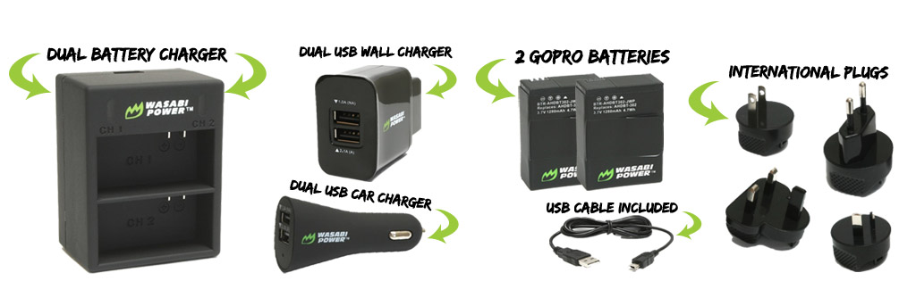 REVIEW Wasabi Power Battery Kit for HERO3 and HERO3+