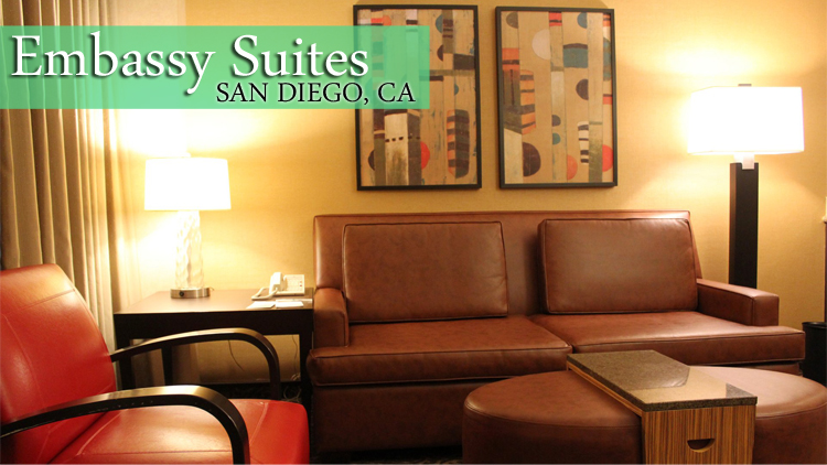 Embassy Suites Downtown San Diego Hotel Review
