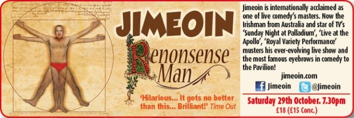 JIMEÓIN – Renonsense Man - CLICK FOR MORE INFO!