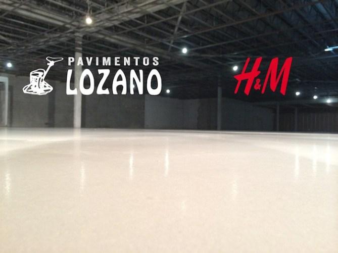 Mortero alta planicidad H&M Pavimentos Lozano