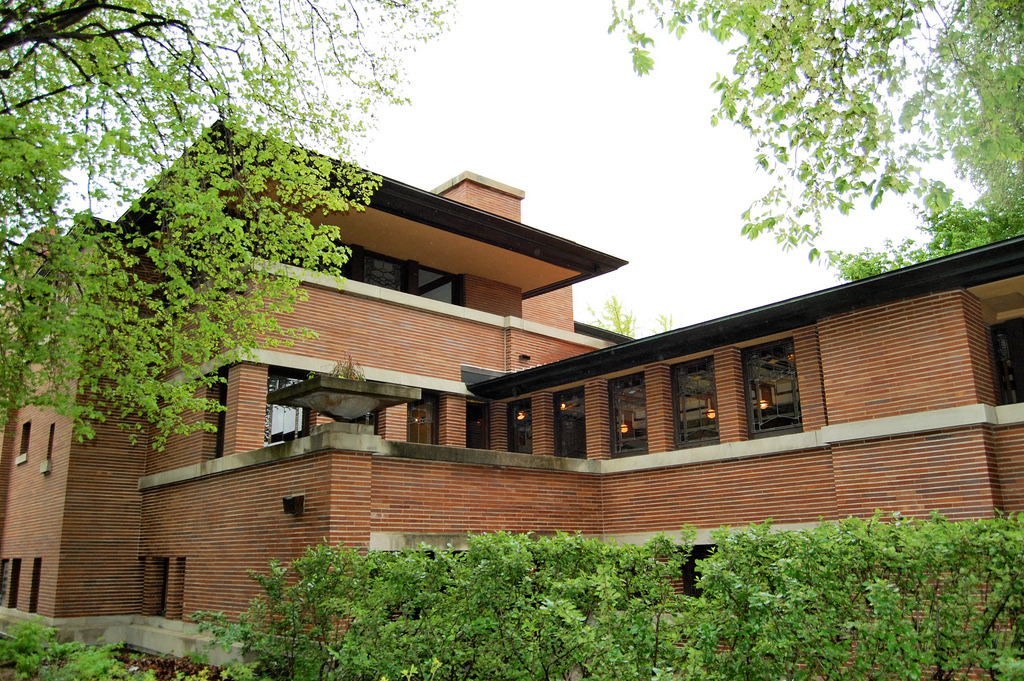 Frank lloyd wright 39 s robie house hyde park illinois for Frank lloyd wright parents