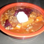 Beef Beer Barley Stew Recipe