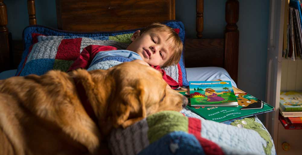 SERVICE DOGS FOR CHILDREN WITH AUTISM - PAWS WITH A CAUSE
